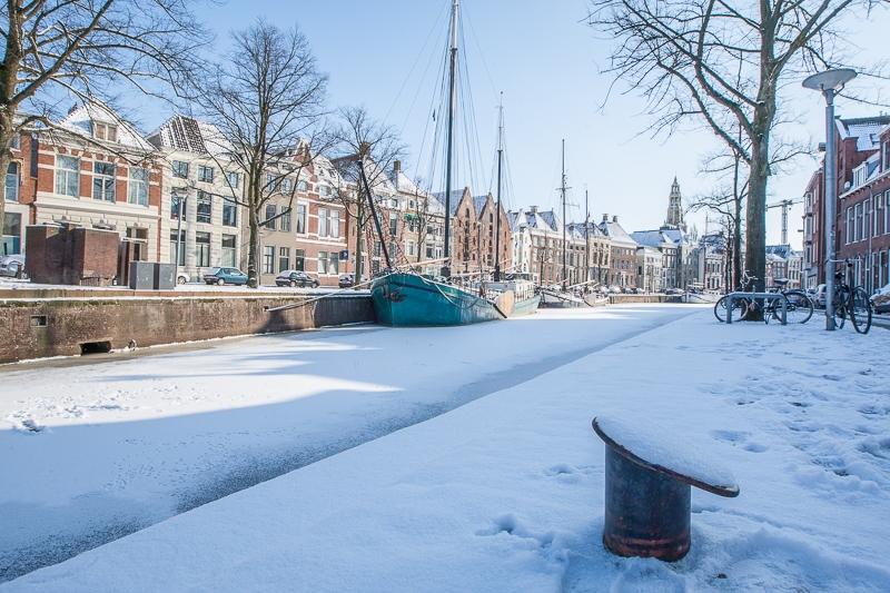 Lage der A, Groningen 04.02.2012 ((Canon EF 16-35mm f/2.8L II USM)