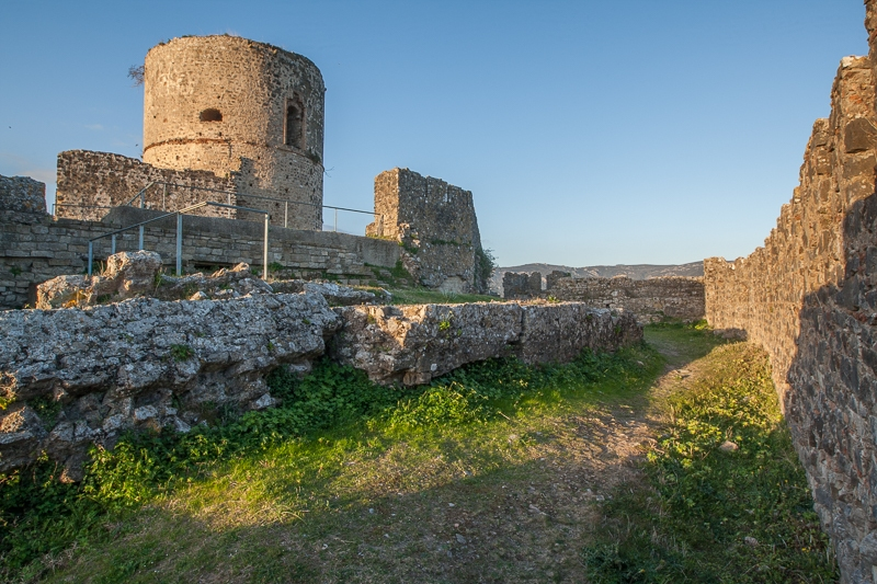 Jimena Castle 09.03.2012  (Canon EF 16-35mm f/2.8L II USM)