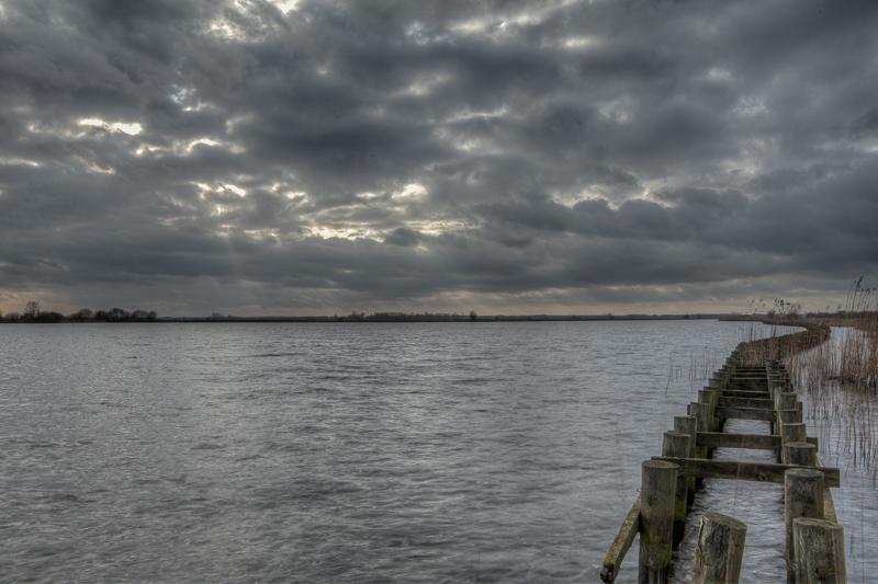 Foxholstermeer, Kropswolderbuitenpolder 27.01.2012  (Canon EF 16-35mm f/2.8L II USM)